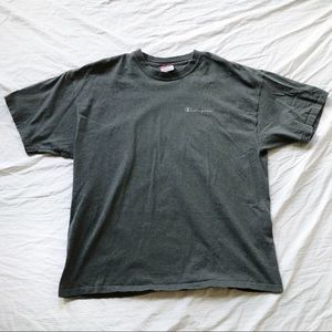 Gray Champion Spell-Out Tee